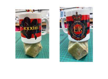 RE Corps / 33 XXXIII Mug